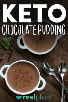 Chocolate Pudding (Keto) - https://realplans.com/recipes/chocolate-pudding-keto/