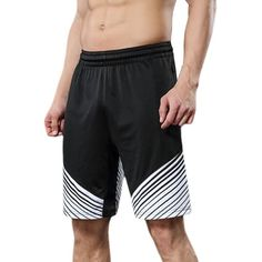 Summer Mens Basketball Training Running Pantalón deportivo Breathable Fast Dry Loose Shorts #basketballtraining