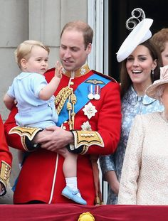 Pin for Later: 37 Ridiculously Cute Prince George Pictures When He Perfected His Royal Wave