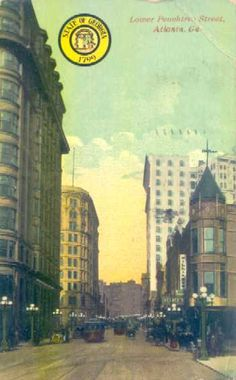 Peachtree Street, Atlanta 1911