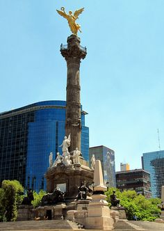 Angel of Independence Monument - Mexico City, Mexico.
