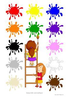 BLOG EDUKACYJNY DLA DZIECI: KOLORY - PLANSZA Homeschool, Education, Blog, Speech Language Therapy, Blogging, Learning, Homeschooling, Teaching