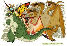 Godzilla Saves the Day by RoFlo-Felorez.deviantart.com on @DeviantArt