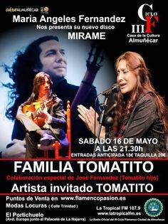 La familia Tomatito cierra este sábado el III Ciclo Flamenco de Almuñécar