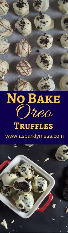 How to Make Awesome Easy Oreo Truffles. Super Fast and Easy, Perfect for Holiday Gatherings!