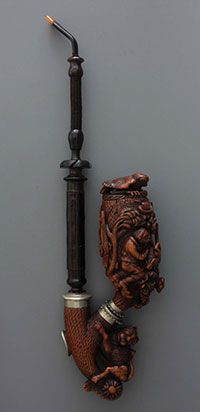 After reading a recent article in Pipes and Tobaccos magazine, I am certainly fascinated with these pipes that are without a doubt, works of art. I suspect that