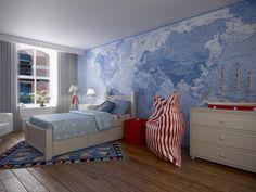 World Map Wallpaper - Saruul Designs, Inc.