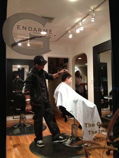 Hairstylist Miguel - Our West Hollywood hair care experts offer a complete range of treatments and styling services for both men and women in our hair salon at The Gendarmerie.  www.thegendarmerie.com