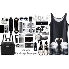 Sans titre #40 by clavillemin on Polyvore featuring mode, Shakuhachi, Mulberry, adidas Originals, NIKE, Samsung, Dolce&Gabbana, RetroSuperFuture, NYX and Bare Escentuals