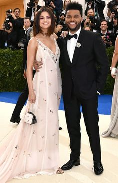 Selena Gomez and The Weekend - click through for more best-dressed couples at the 2017 Met Gala