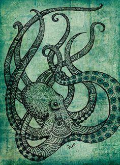 """Octopus"" by Daniela Alejandra Silva Hidd."