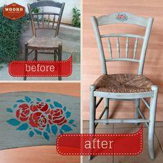 Σώθηκε από τα σκουπίδια και ανανεώθηκε. Την άξιζε την ευκαιρία της. Furniture Makeover, Dining Chairs, Painting, Home Decor, Decoration Home, Room Decor, Painting Art, Dining Chair, Paintings