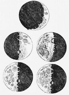 Moon Drawings (1610)