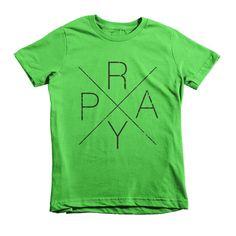 PRAY Short Sleeve Kids T-Shirt