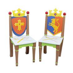 Found it at Wayfair - Fantasy Fields Knights & Dragons 2 Piece Kids Chair Set