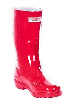 Women Mid-Calf Red Rubber Rain Boot, 7 Forever Young https://www.amazon.com/dp/B01LZOPRDT/ref=cm_sw_r_pi_dp_U_x_57yRAb78XAYBG