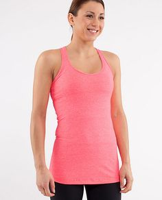 Lululemon cool racerback tank- so obsessed with this tank that I own it in 8 different colors