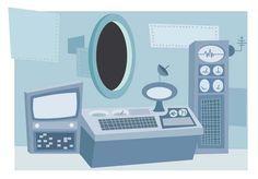 How to Create a Cartoon Spaceship Interior in Under One Hour - Tuts+ Design & Illustration Tutorial