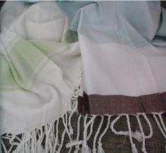 Set of 2 pcs Turkish Cotton Bath Hammam Peshtemal by xxlstore, $42.00