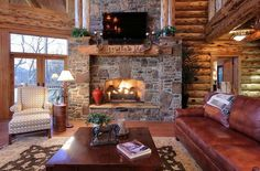 Over 130 Different Indoor Fireplace Ideas. http://pinterest.com/njestates/indoor-fireplace-ideas/