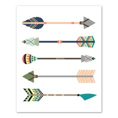 Tribal Arrows Wall A