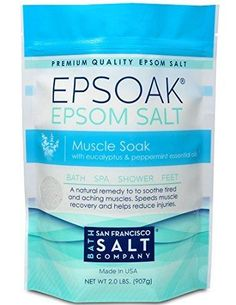 soak epsom epsom salt salt 2lbs muscle soak relax soothe bath salts ac ...