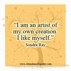Image result for Sondra Ray affirmation pics