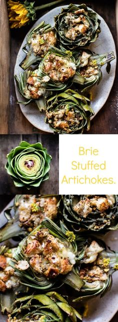 Brie Stuffed Artichokes | halfbakedharvest.com @hbharvest
