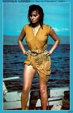 BOY ON A DOLPHIN, Film4, Wed Feb 3, 11am and Mon Feb 8, 4.40pm Perhaps the most well-known thing about Sophia Loren's first American film, made in 1957, is that in one scene she had to walk …