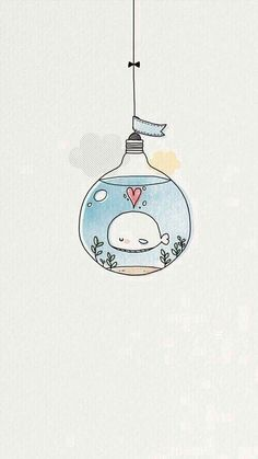 Haha, I'm totally loving these! Whale in a lightbulb...classic