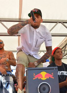Chris Brown took the stage at Palms Pool for Memorial Day Weekend on May 26, 2013 For more celeb sightings at Palms Pool check out http://celebhotspots.com/hotspot/?hotspotid=26260=1