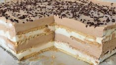 Baking Recipes, Cookie Recipes, Bosnian Recipes, Kolaci I Torte, Czech Recipes, Mini Cheesecakes, Torte Cake, Homemade Cakes, Sweet Desserts