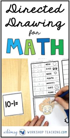 Directed Drawing for MATH is a fun and unique new way to practice core math facts every day in your classroom! Students get to draw one detail of the picture after each equation is solved (The free download is a sample set with 100+ task cards!)