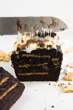 s'mores bread \\ immaEATthat.com