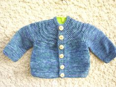 Baby Boy 5 Hour Sweater By Gail Bable - Free Knitted Pattern - (ravelry)