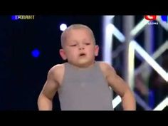 Sergej Evplov: Ukraine talent show, amazing 7yo kid If you ever tell yourself you can't do something, watch this. He's seven years old. do you think that stopped him from doing something he loved. I don't think so.  Remember there is no such think as impossible. You can do anything!