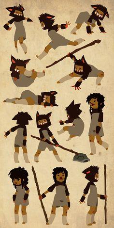 Eva Figueroa López - Character Design Page