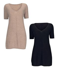 Cashmere & Wool Tunic Top