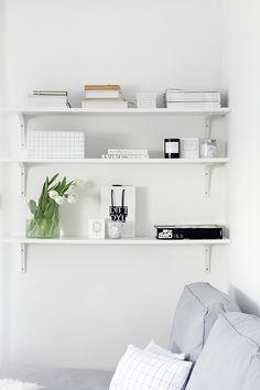 My White Obsession: SHELVES