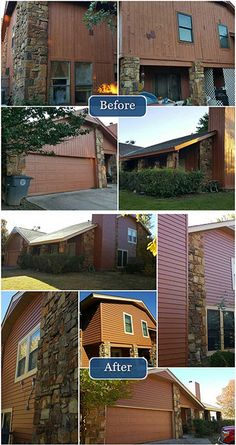 New Siding really gave this home a fresh look!