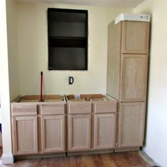 Diy Kitchen Island From Stock Cabinets Diy Home In 2019
