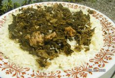 Liberian cabbage with collards