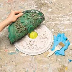 Create reusable rubber molds using to MasterMold to reproduce original plaster details in your home with the help of Kevin Shale.