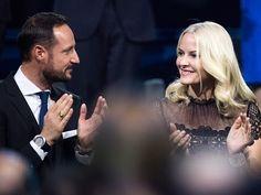 Crown Prince Haakon and Crown Princess Mette Marit Attended Nobel Peace ...
