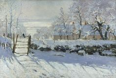 The Magpie (French: La Pie) is an oil-on-canvas landscape painting by the French Impressionist Claude Monet, created during the winter of 1868–1869
