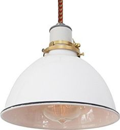 THE COLUMBUS LAMP - Red & Putty Cord