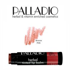 2 Pack Palladio Beauty Tinted Lip Balm 07 Bronze Pink ( Bronzy ) *** Read more  at the image link.