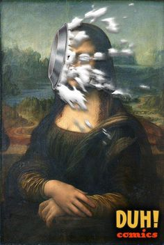 Happy Pi Day, Mona. #duhcomics