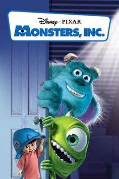 Monsters Inc. Movie Poster. Loved this movie.