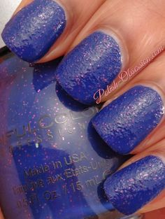 Blue Persuasion, Sinful Colors, Crystal Crushes collection (2013)